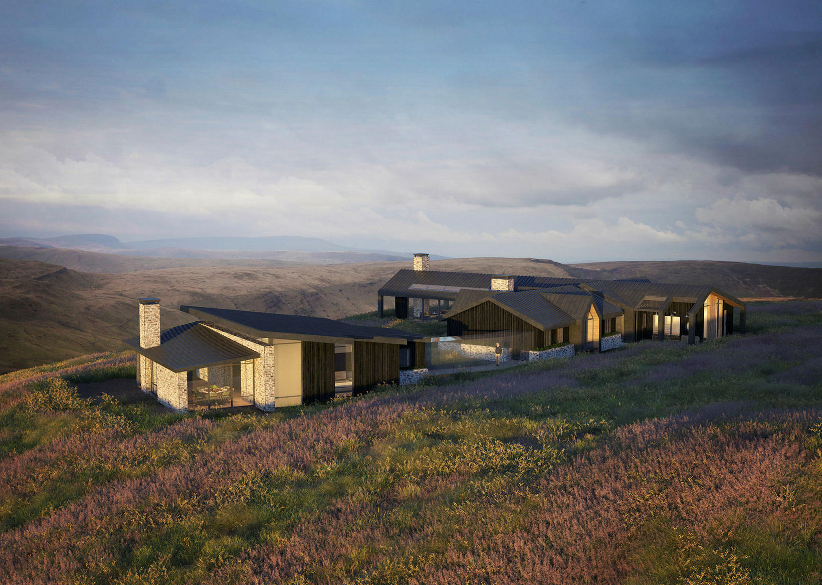 This is what the new fishing lodge by Miðfjarðará river …