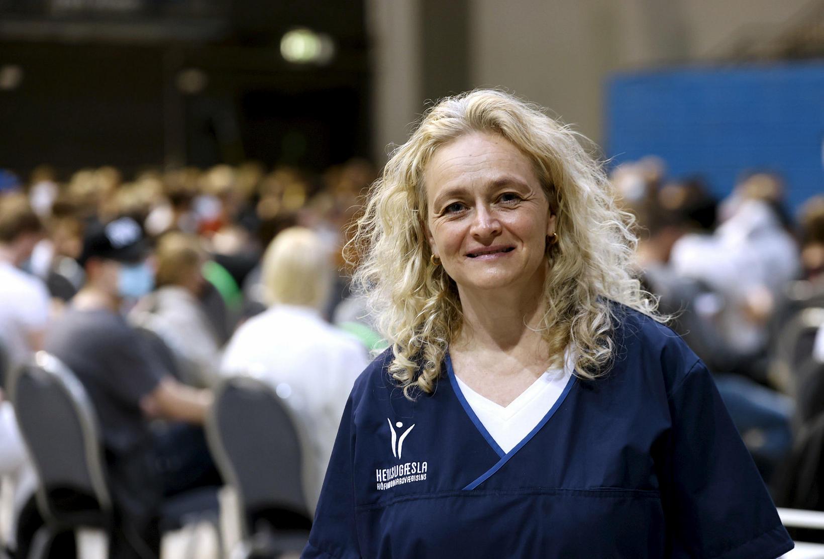 Áslaug Arnaldsdóttir hjúkrunarfræðingur