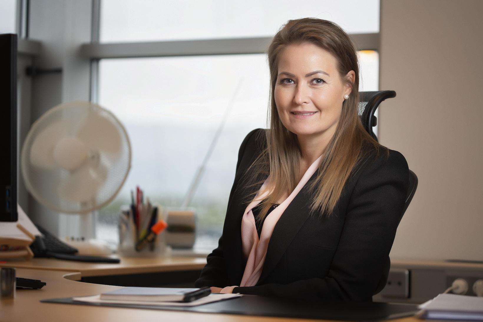 María Jóna Magnúsdóttir framkvæmdastjóri Bílgreinasambandsins.
