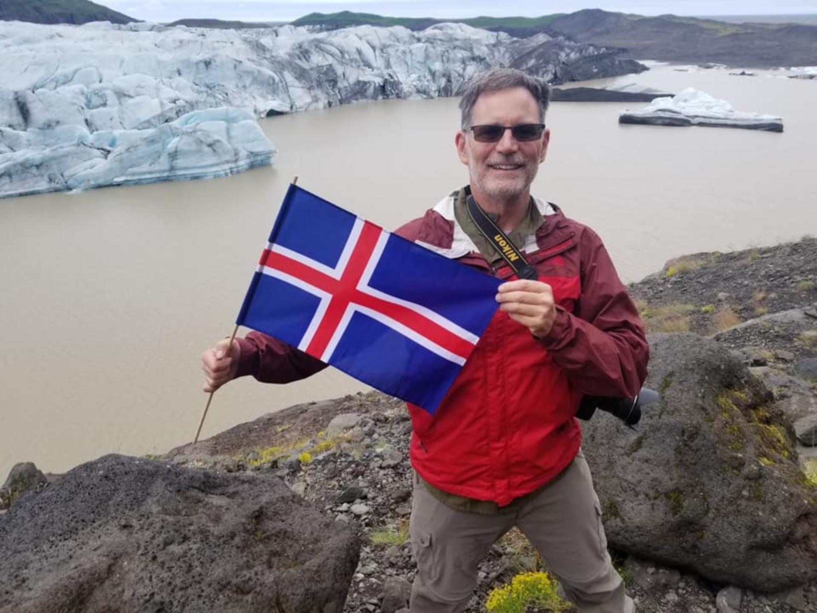 Barri er sannkallaður Íslandsvinur.