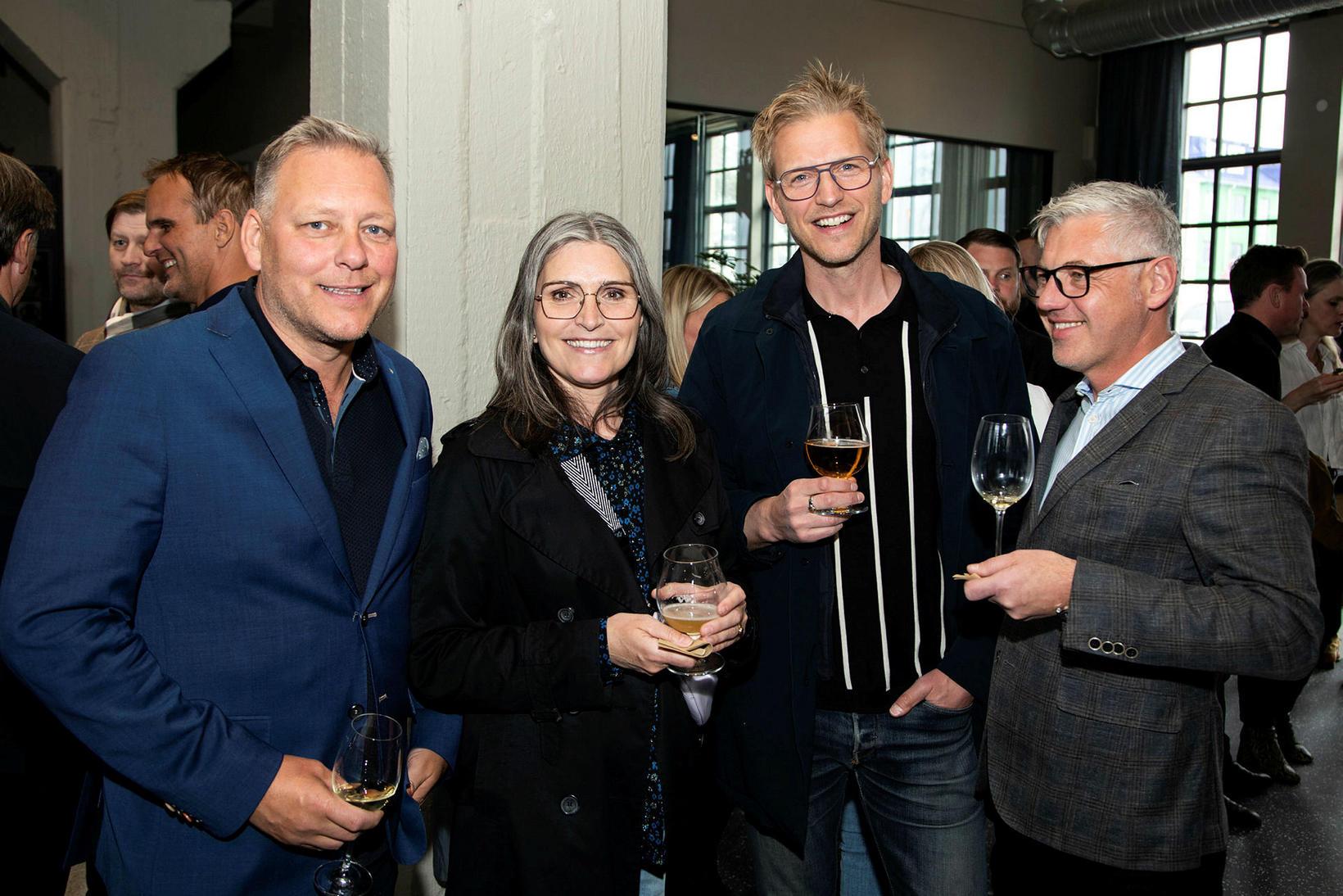 Andrés Pétur, Petra Björk, Darri og Markus.