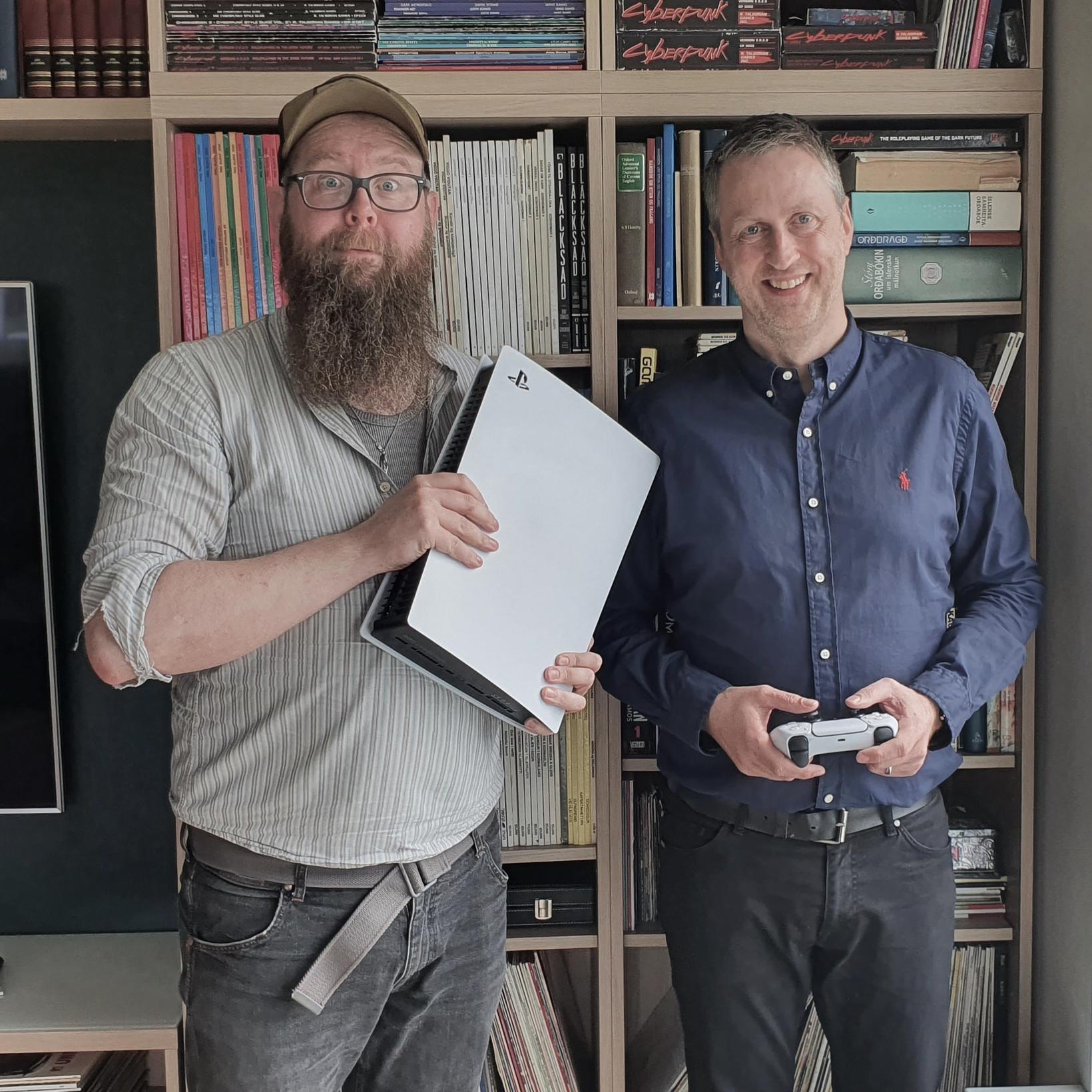Snæbjörn Ragnarsson og Ólafur Þór Jóelsson.