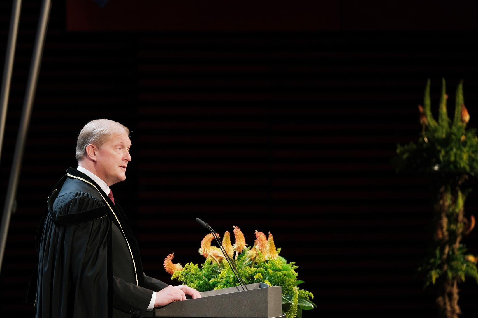 Dr. Ari Kristinn Jónsson, rektor HR, flutti ávarp.