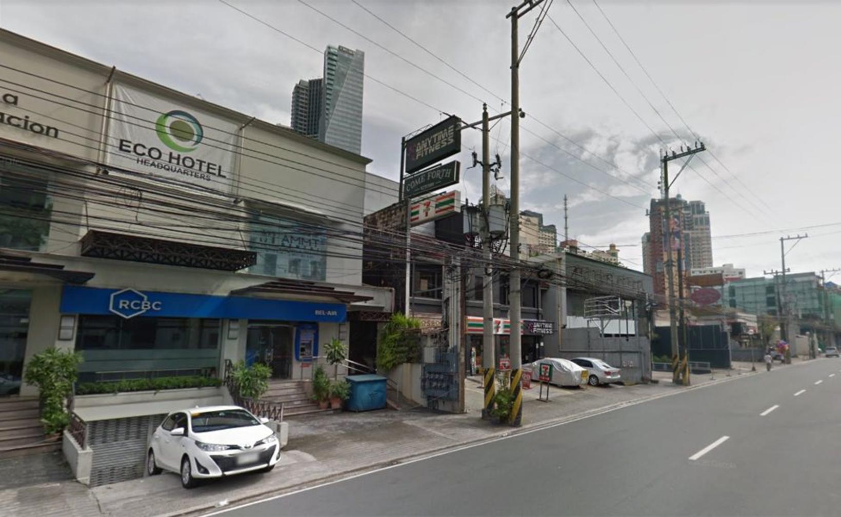 Júpíter-gata í Manila á Filippseyjum. Götuheitið kom á endanum í …