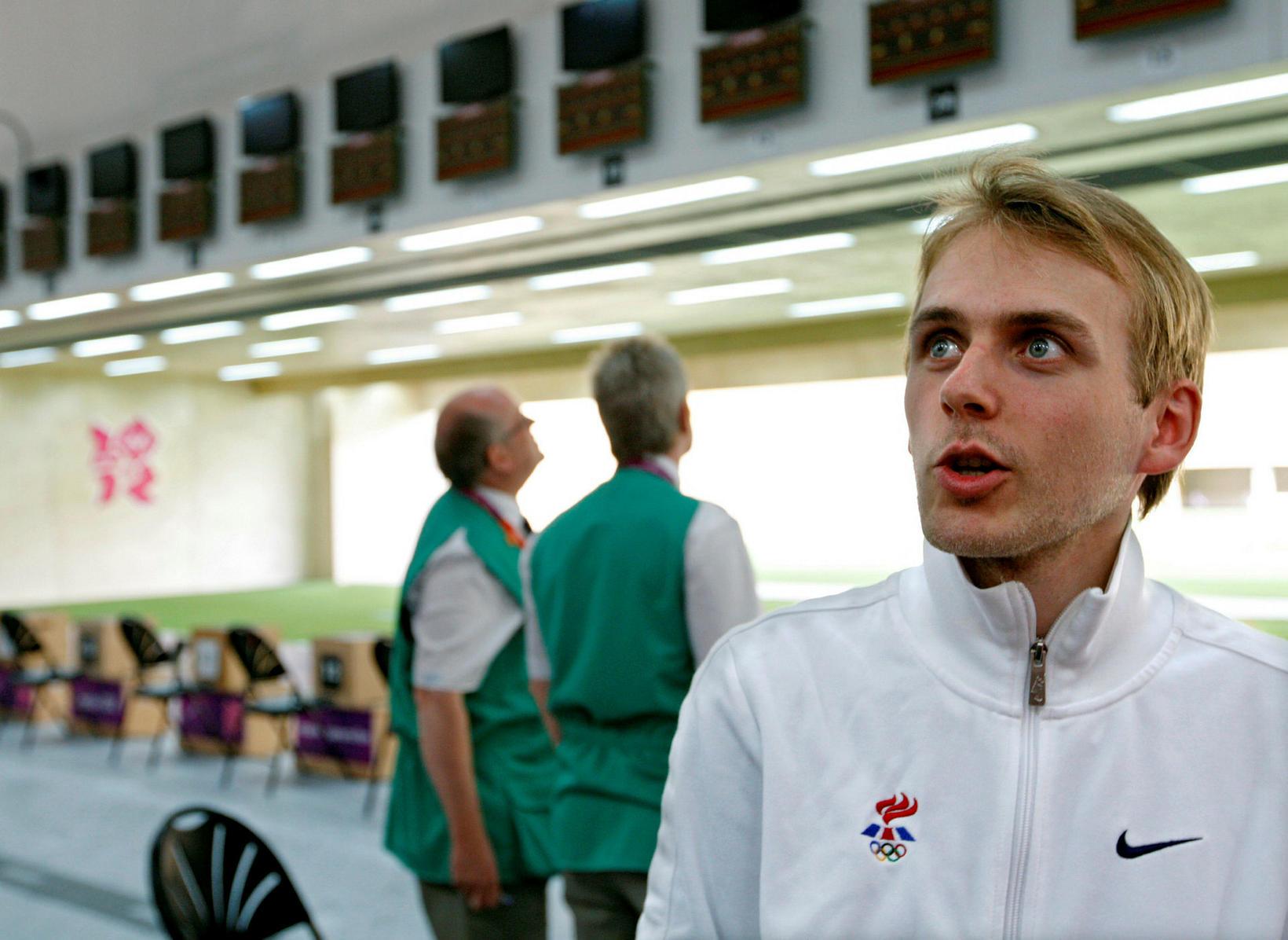 Ásgeir Sigurgeirsson á Ólympíuleikunum í London árið 2012.