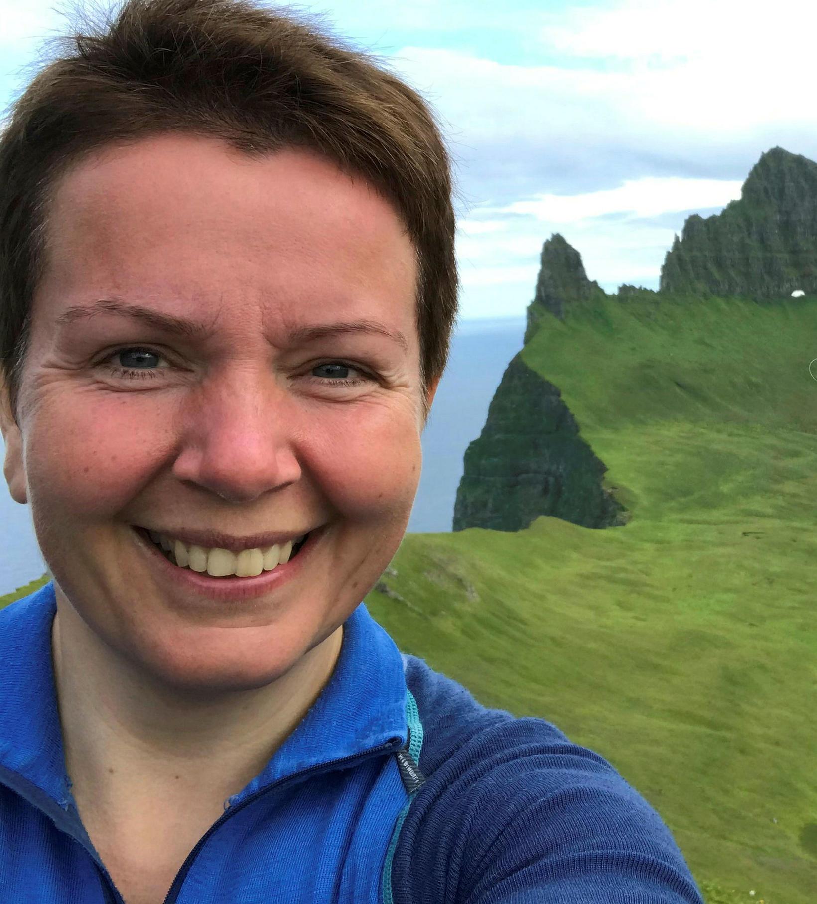 Kristín Ósk Jónasdóttir, sérfræðingur hjá Umhverfisstofnun á Ísafirði.