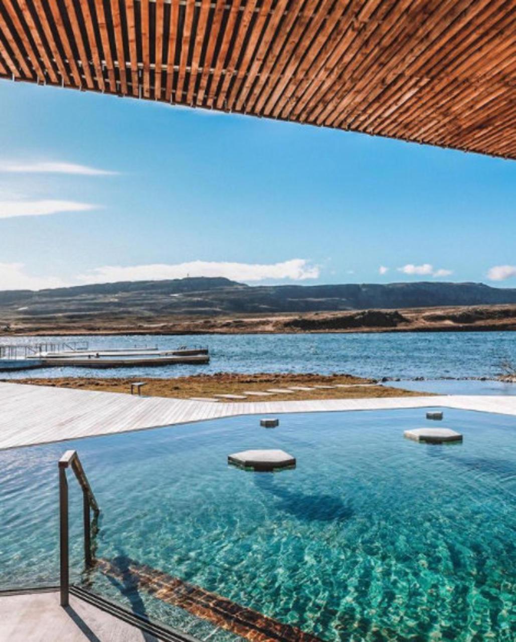Vök baths er einstaklega fallegur baðstaður.