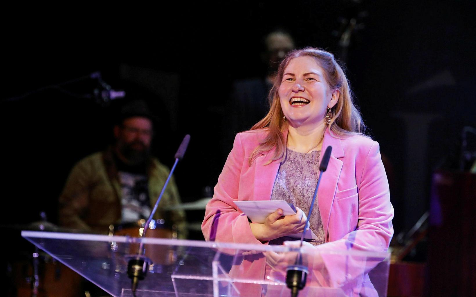 María Sól Ingólfsdóttir var valin söngvari ársins.