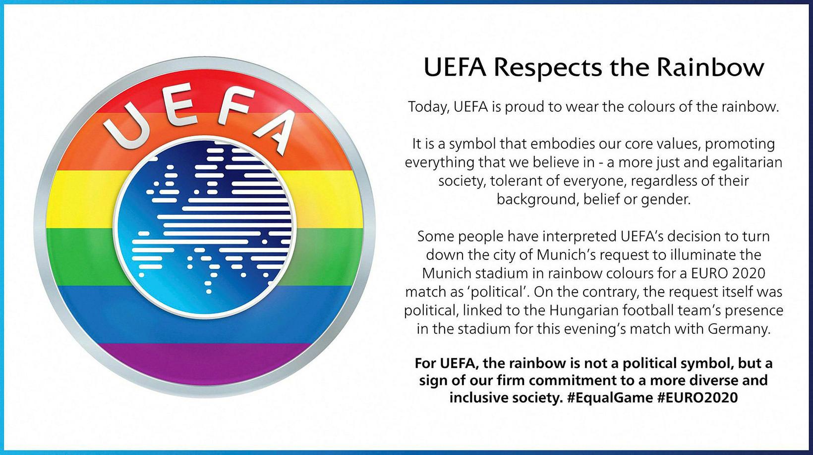 UEFA birti tilkynningu fyrr í dag