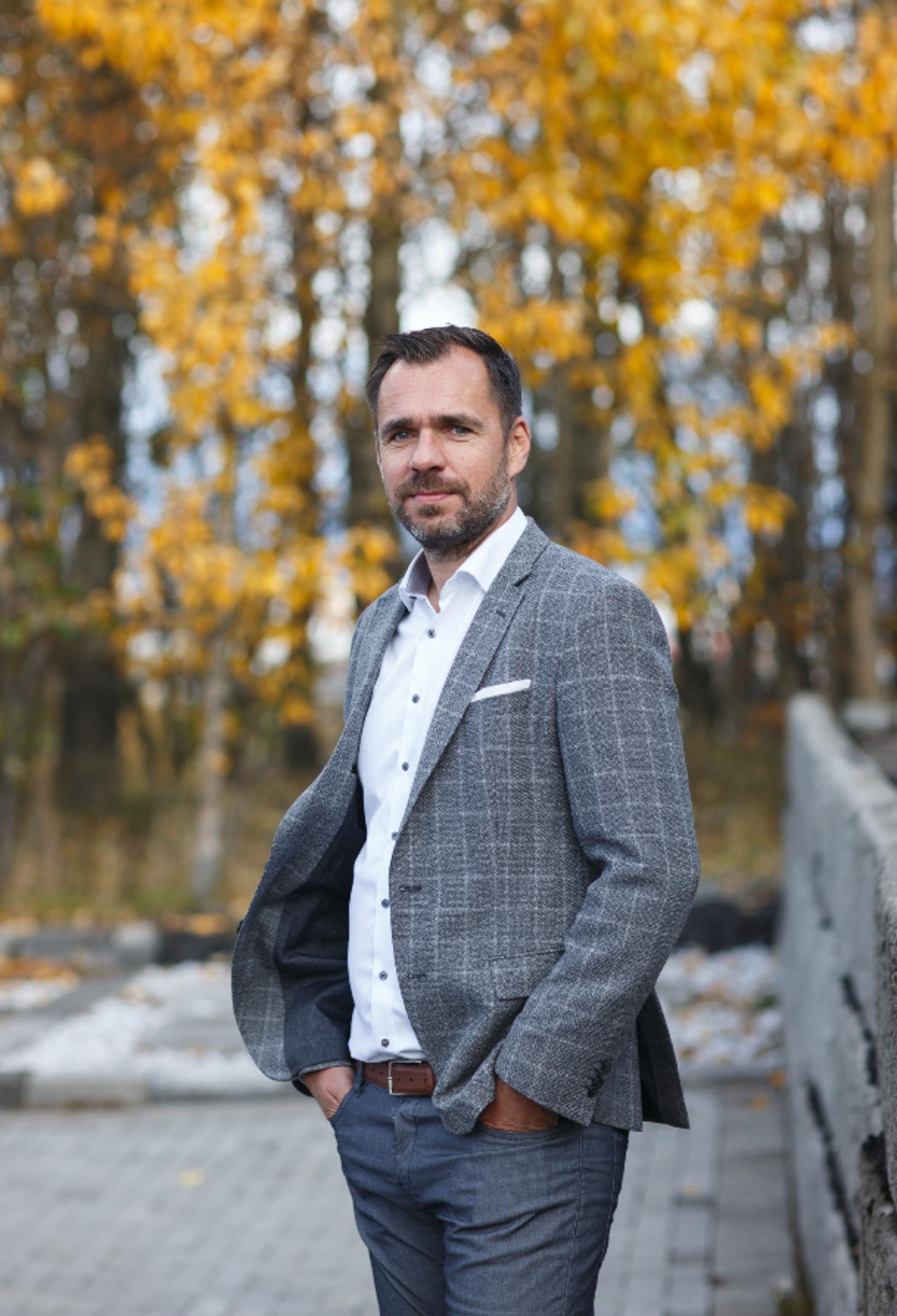 Björn Ingi Victorsson, forstjóri Steypustöðvarinnar.