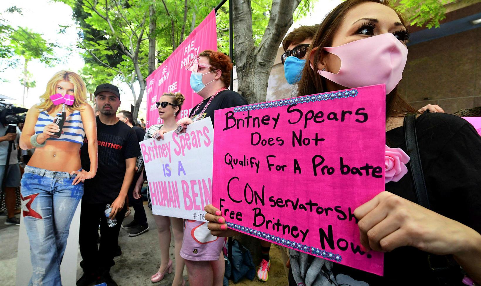 Britney Spears á sér marga stuðningsmenn.