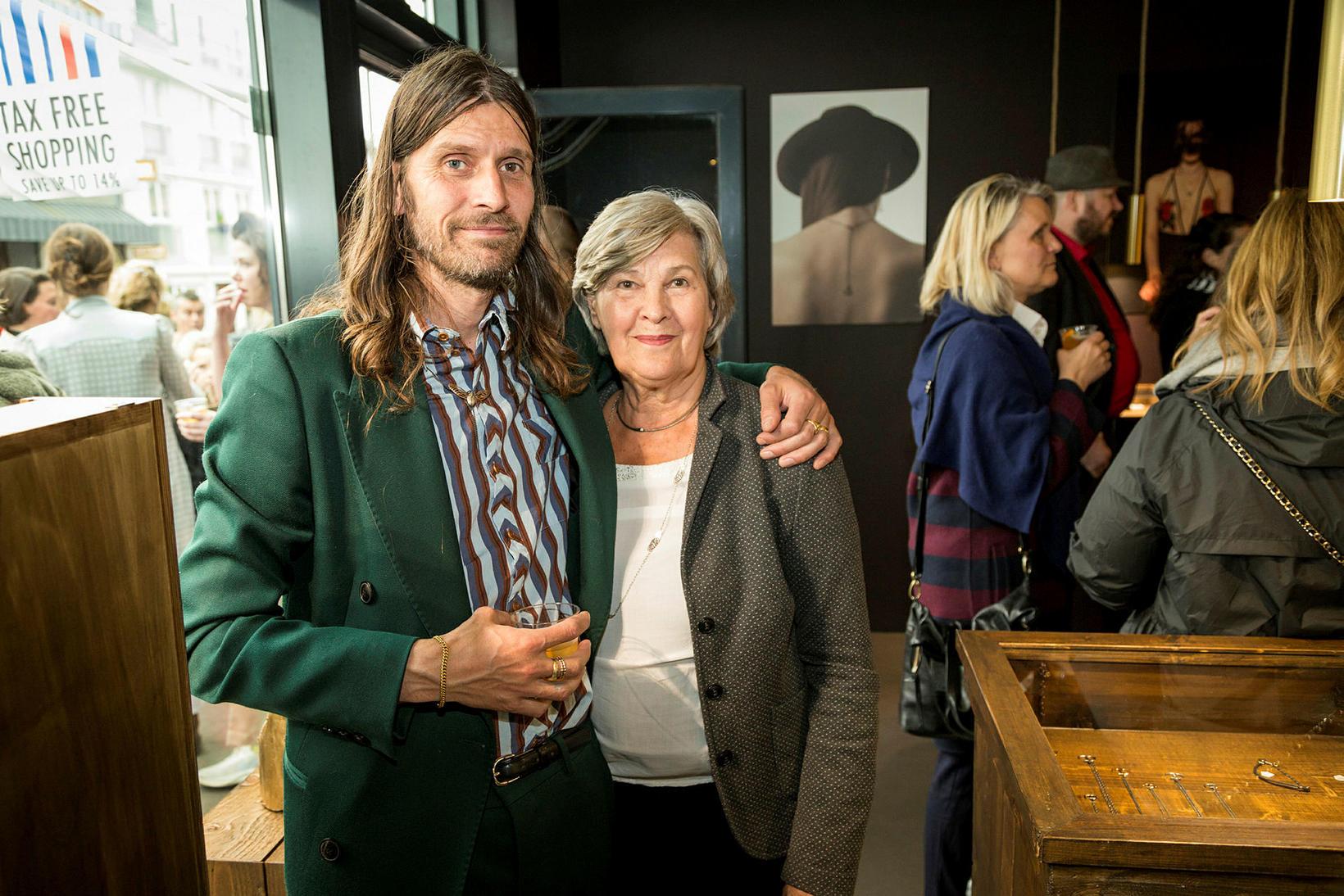 Orri Finnbogason og Helga Jóakimsdóttir.