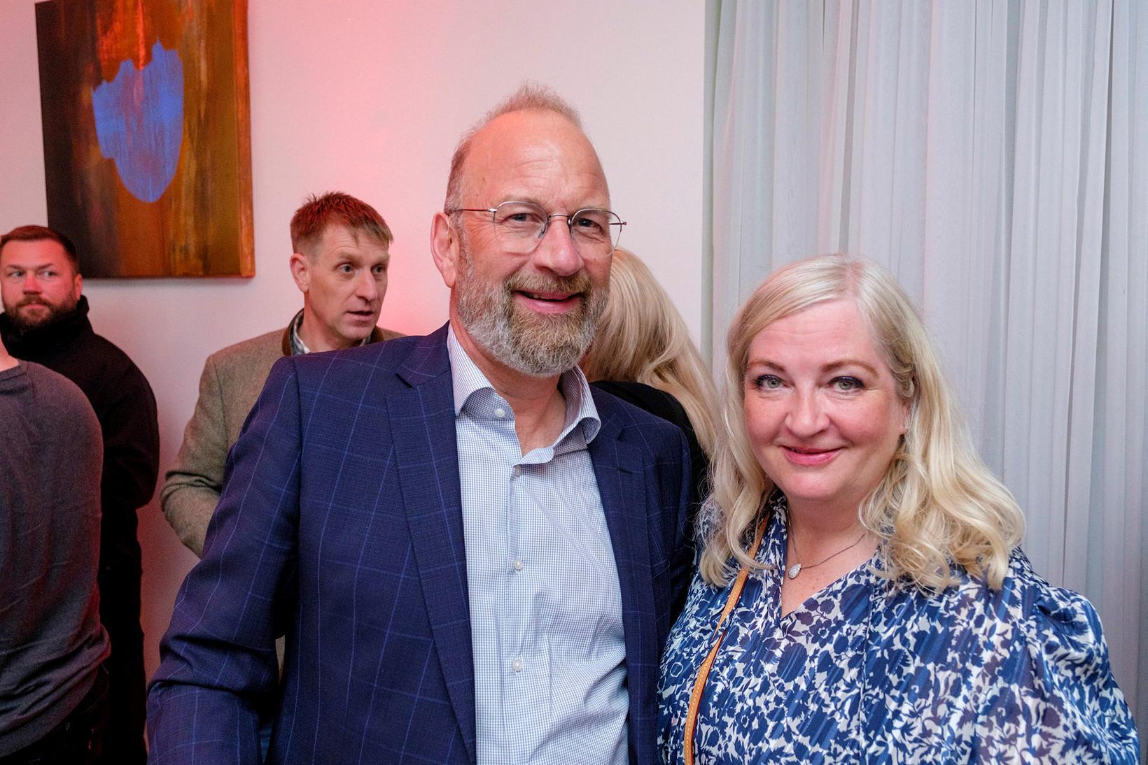 Eggert og Petra.