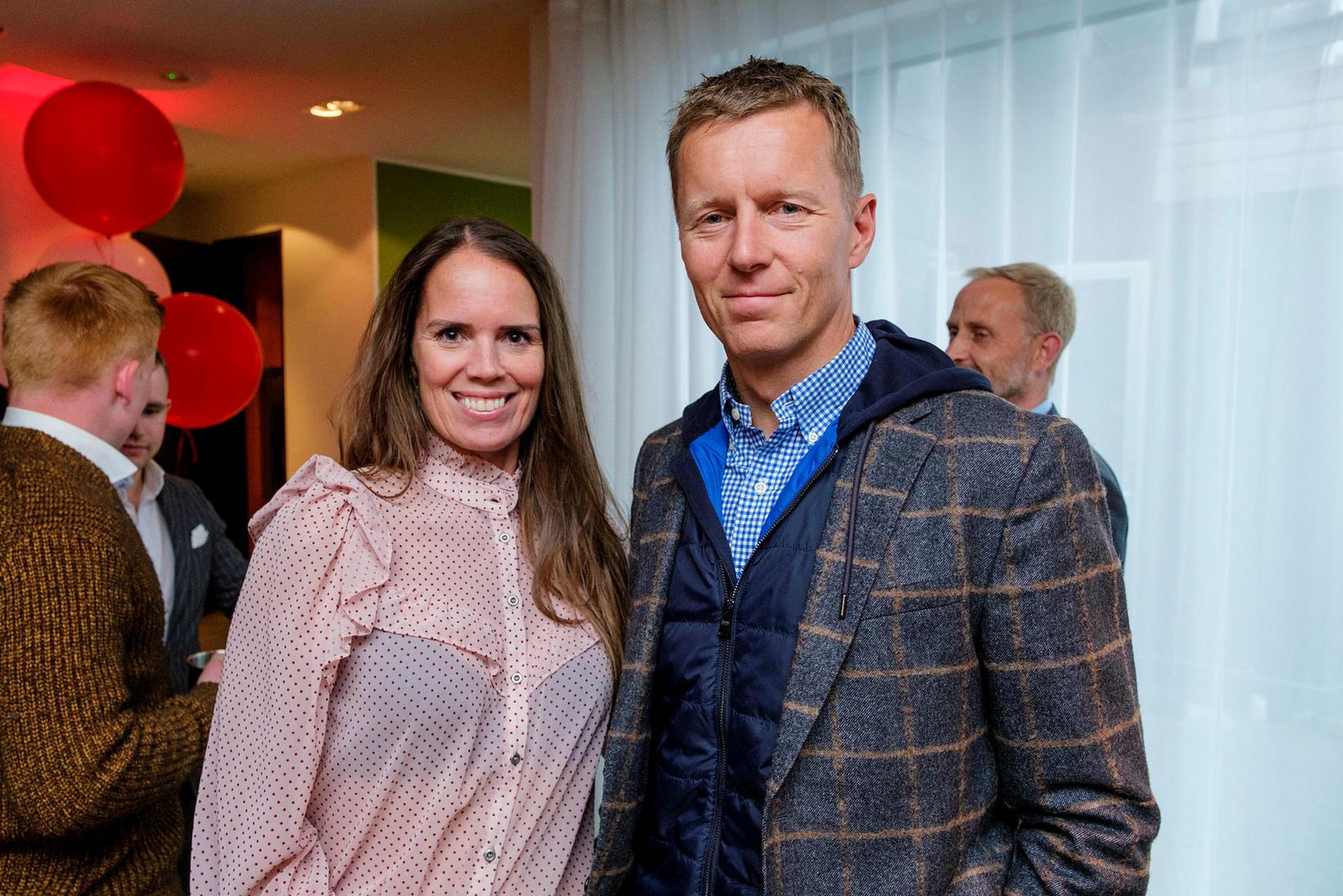 Helga Thors og Björn Ólafsson.