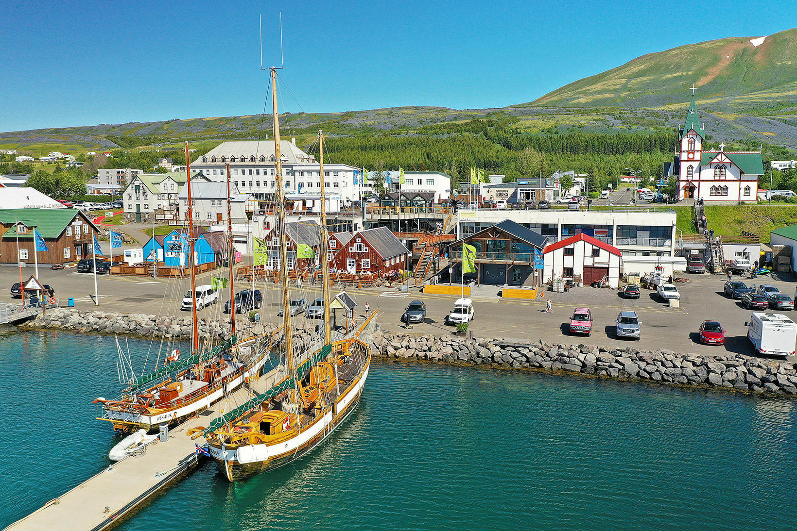 From Húsavík, North Iceland.