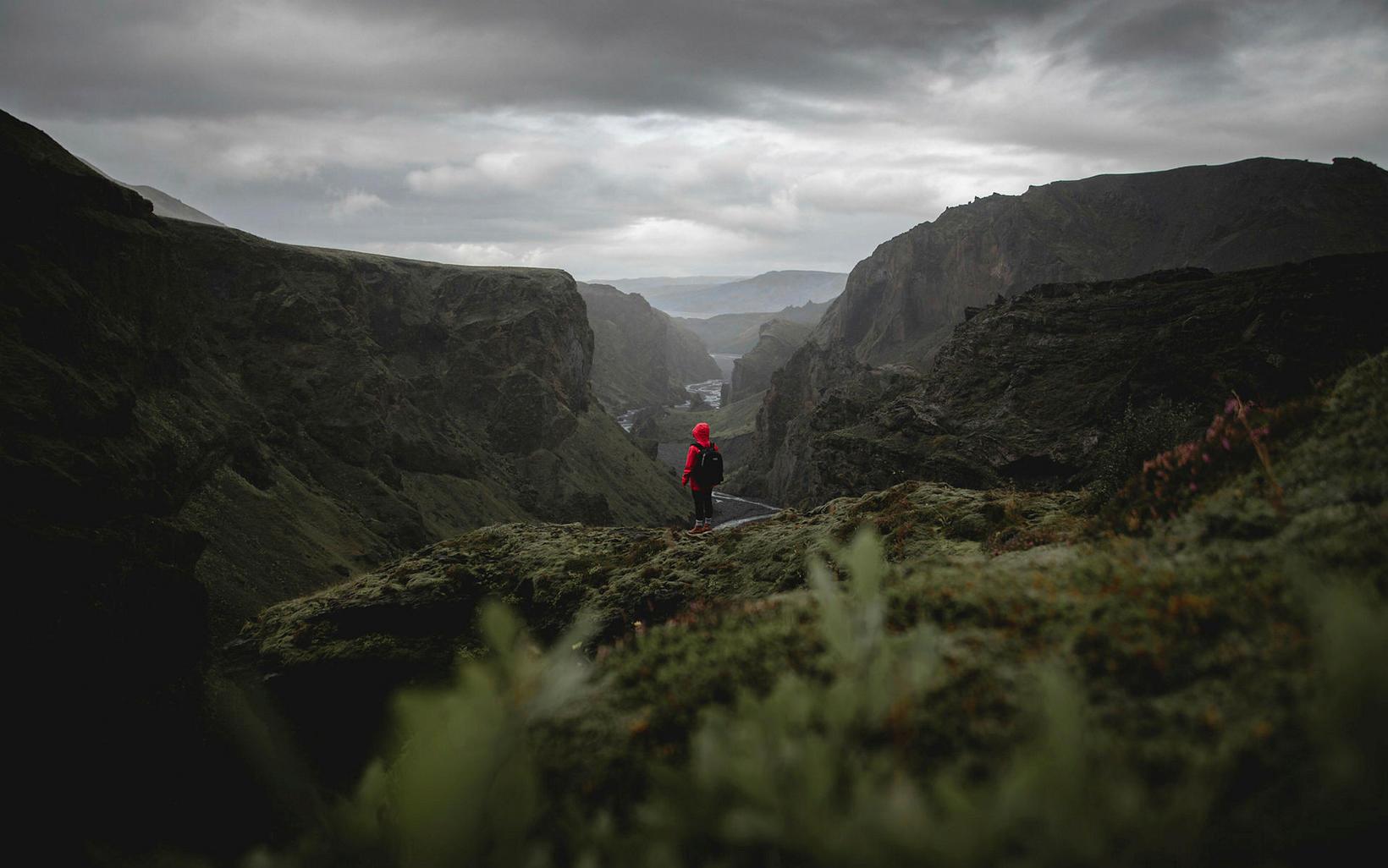 Náttúran á Suðurlandi er einstök.