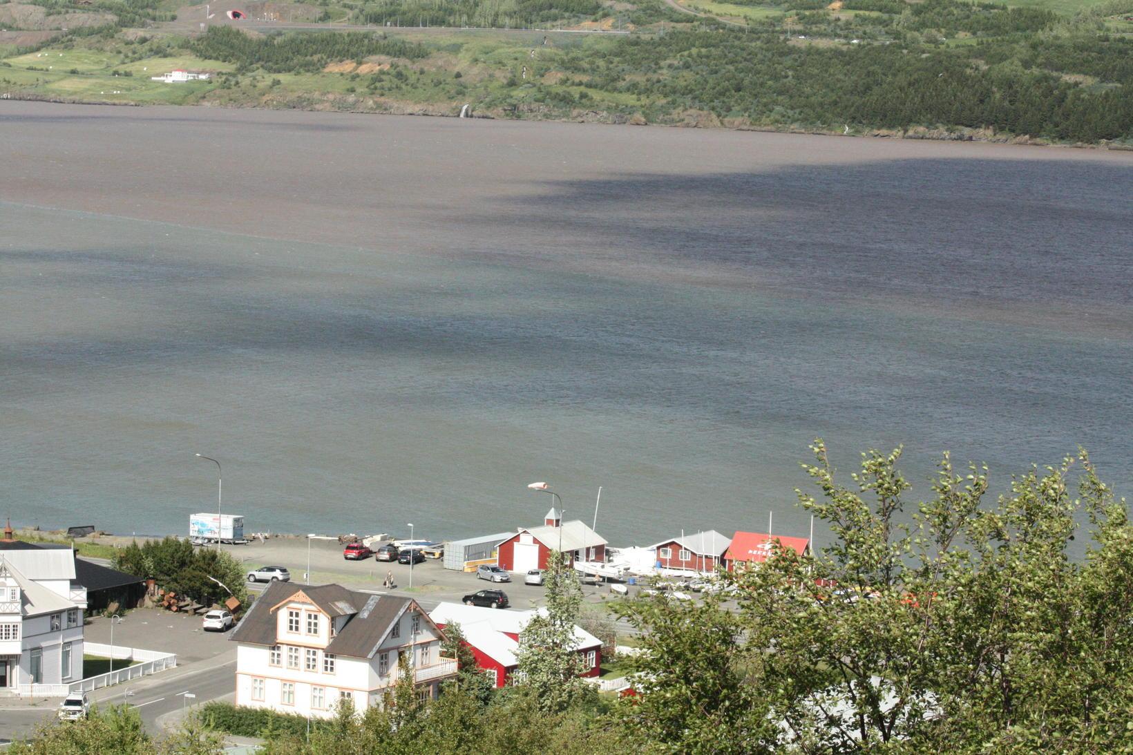 From Eyjafjarðará river.