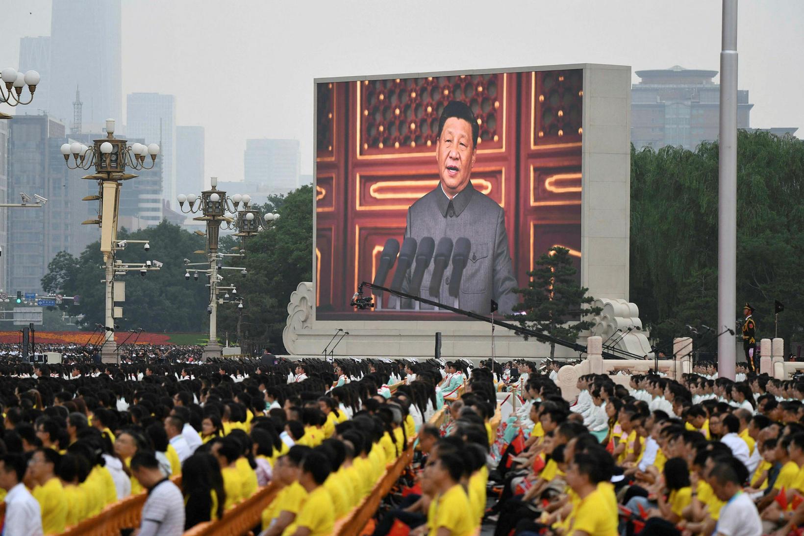 Ræða Xi Jinping var óneitanlega ögrandi.