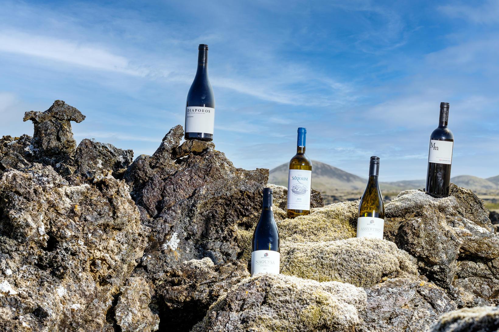 Þau flytja inn vín frá Kir-Yianni og Domaine Sigalas.