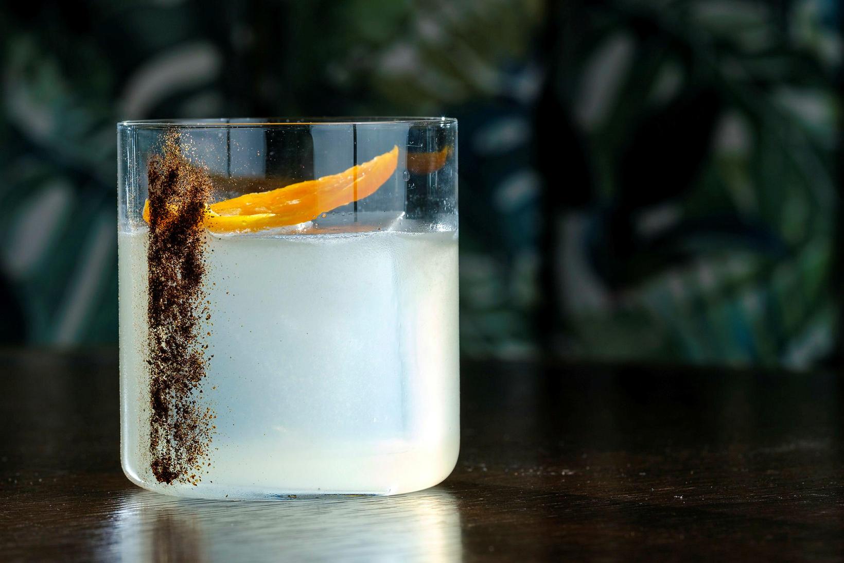 Aji margarita: Aji pipar legið Don Julio tequila, apríkósu brandí …