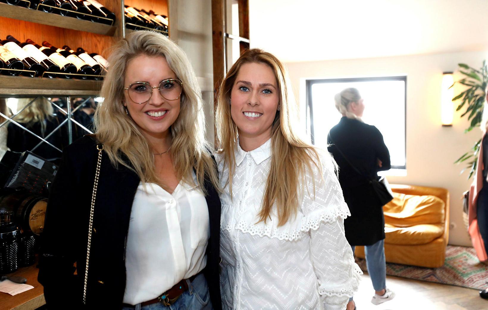 Erla Björndóttir og Ása María Þórhallsdóttir.