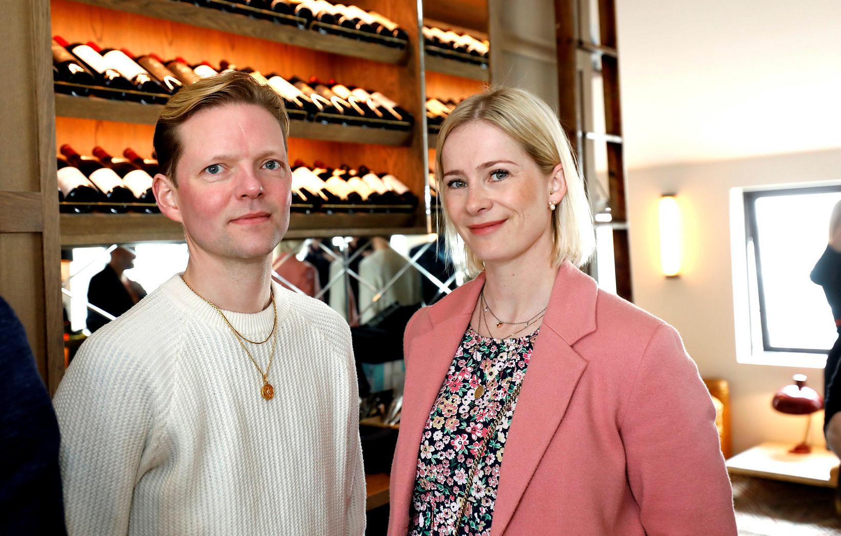 Hans Orri Kristjánsson og Katrín Atladóttir.