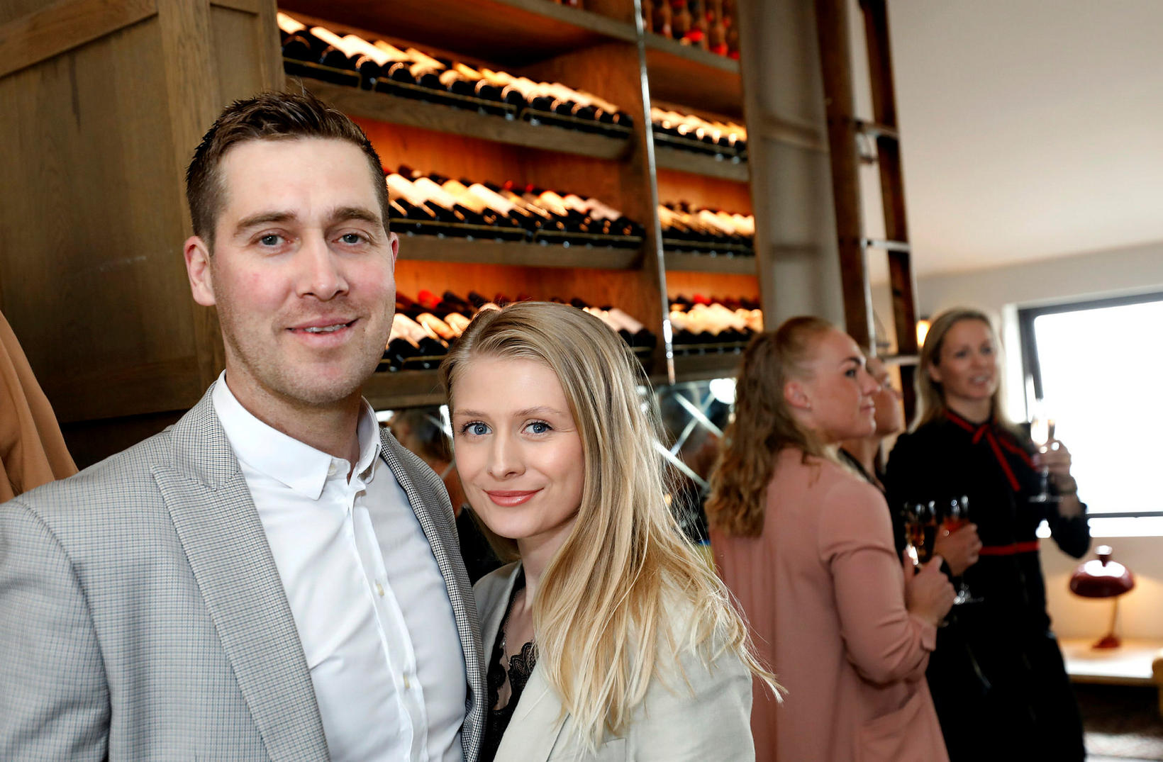 Árni Árnason og Klara Sól Ágústsdóttir.