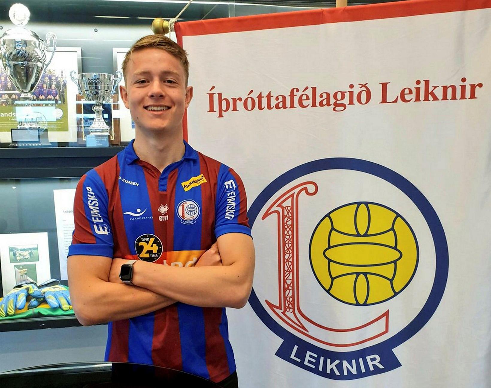 Varnarmaðurinn Hjalti Sigurðsson er kominn aftur til Leiknis frá KR, …