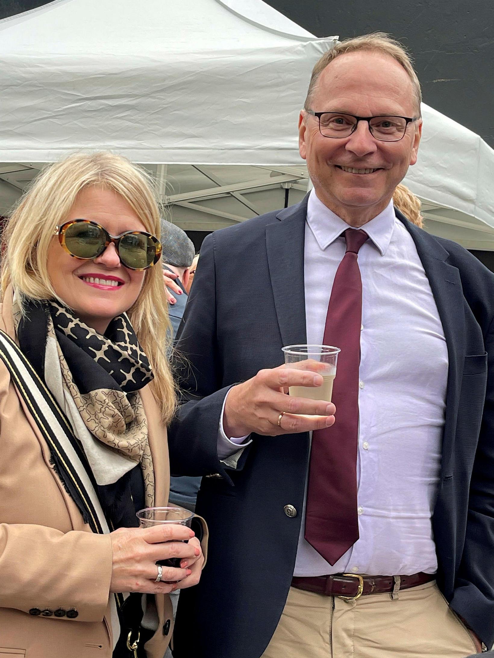 Friðrika Hjartardóttir og Runólfur Pálsson.