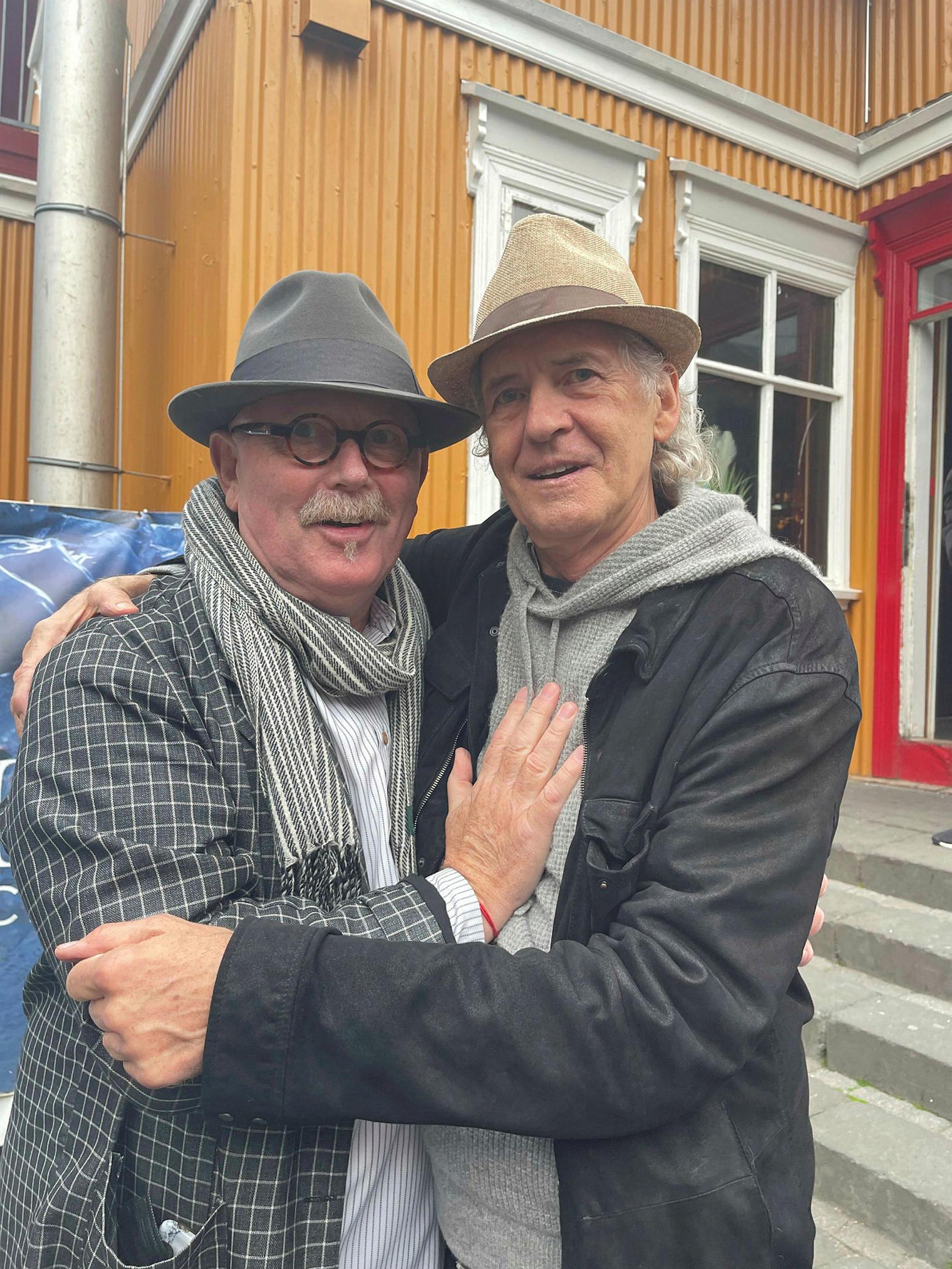 Egill Eðvarðsson og Jón Ólafsson.