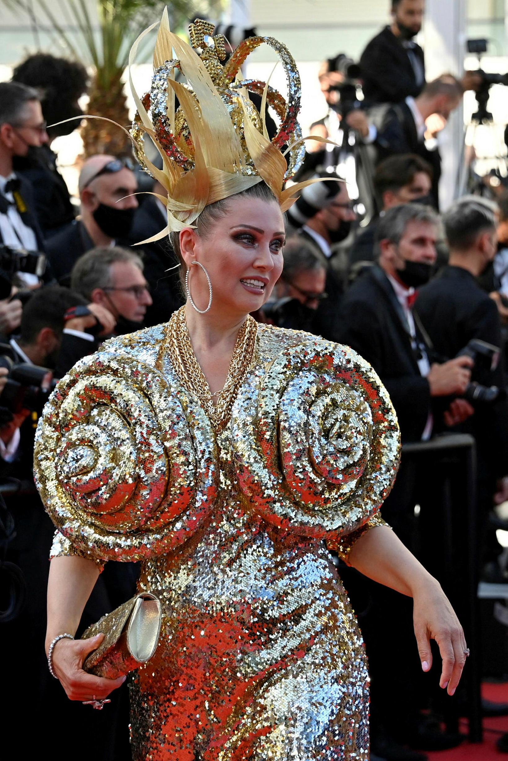 Elena Lenina á sýningu Stillwater í Cannes þann 8. júlí