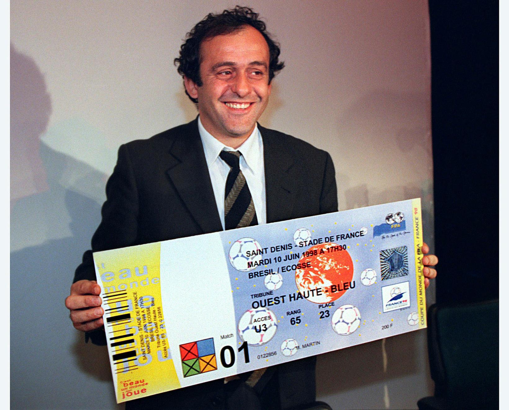 Michel Platini, fyrrverandi forseti UEFA.