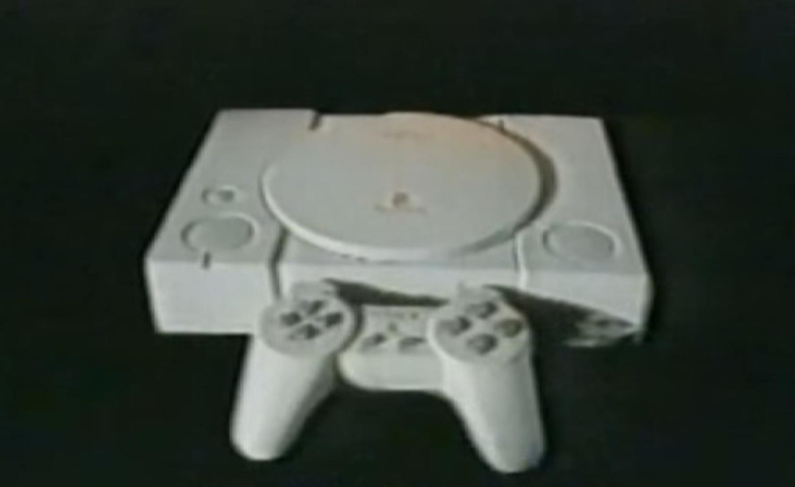 Fyrsta PlayStation leikjatölvan sem gefin var út.