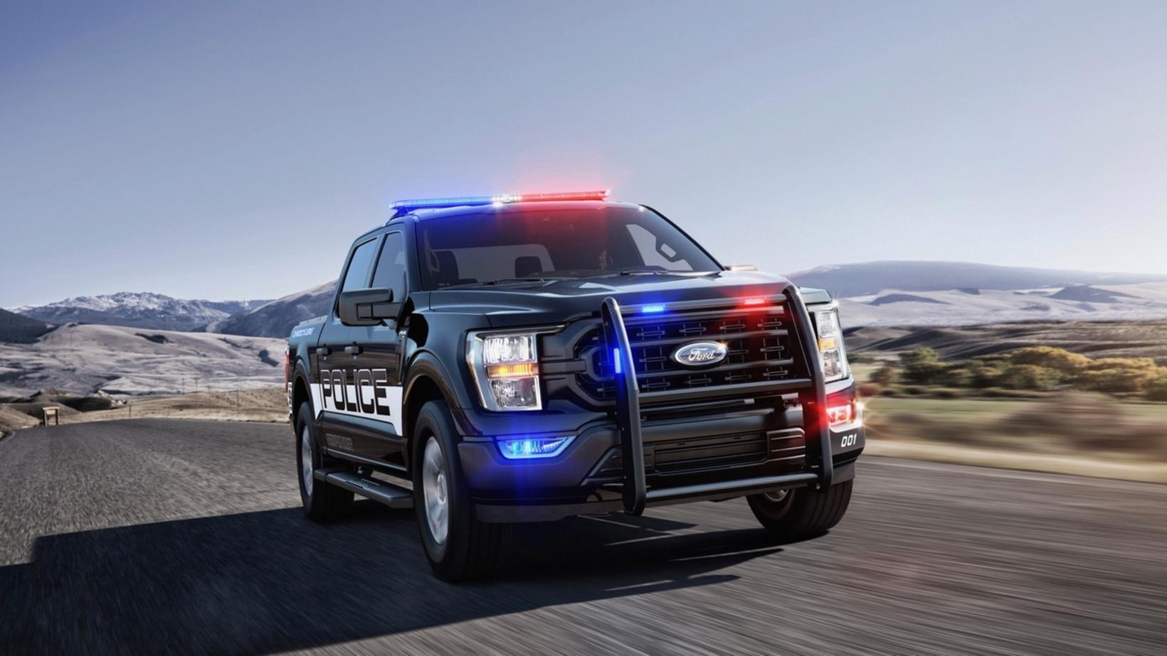 Hinn hraðskreiði lögreglubíll í Los Angeles, Ford F-150 Police Responder.