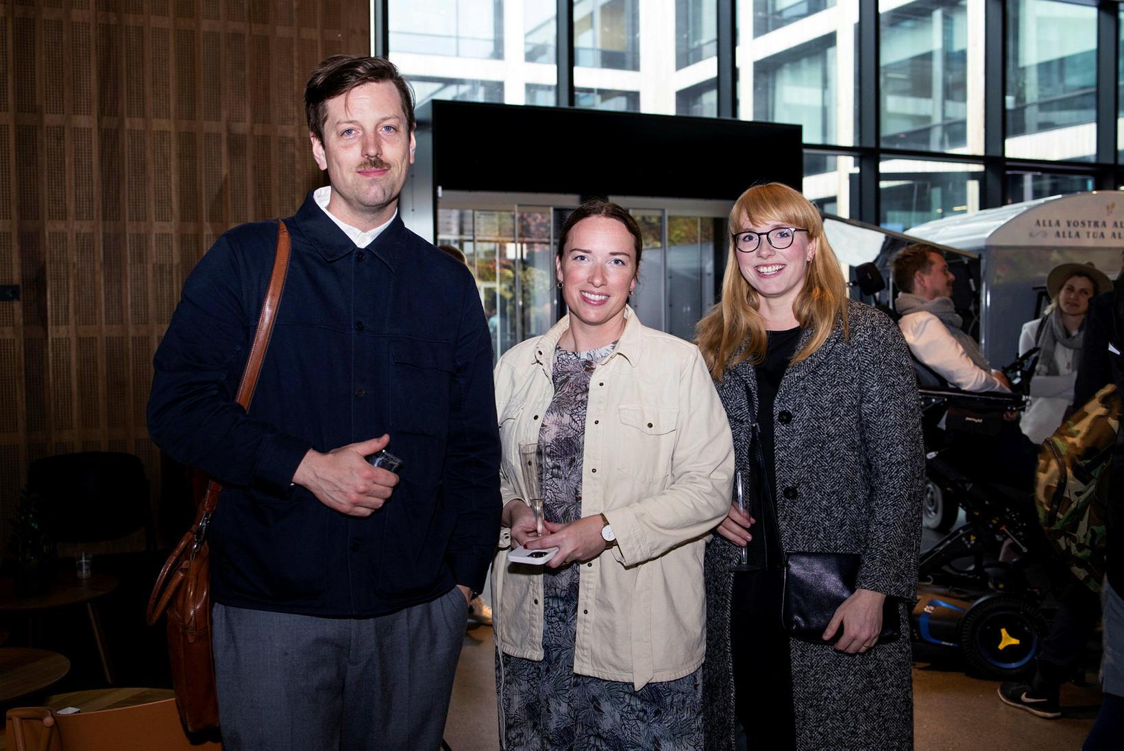 Emil Ásgrímsson, Kristbjörg María Guðmundsdóttir og Ragna Margrét Guðmundsdóttir.