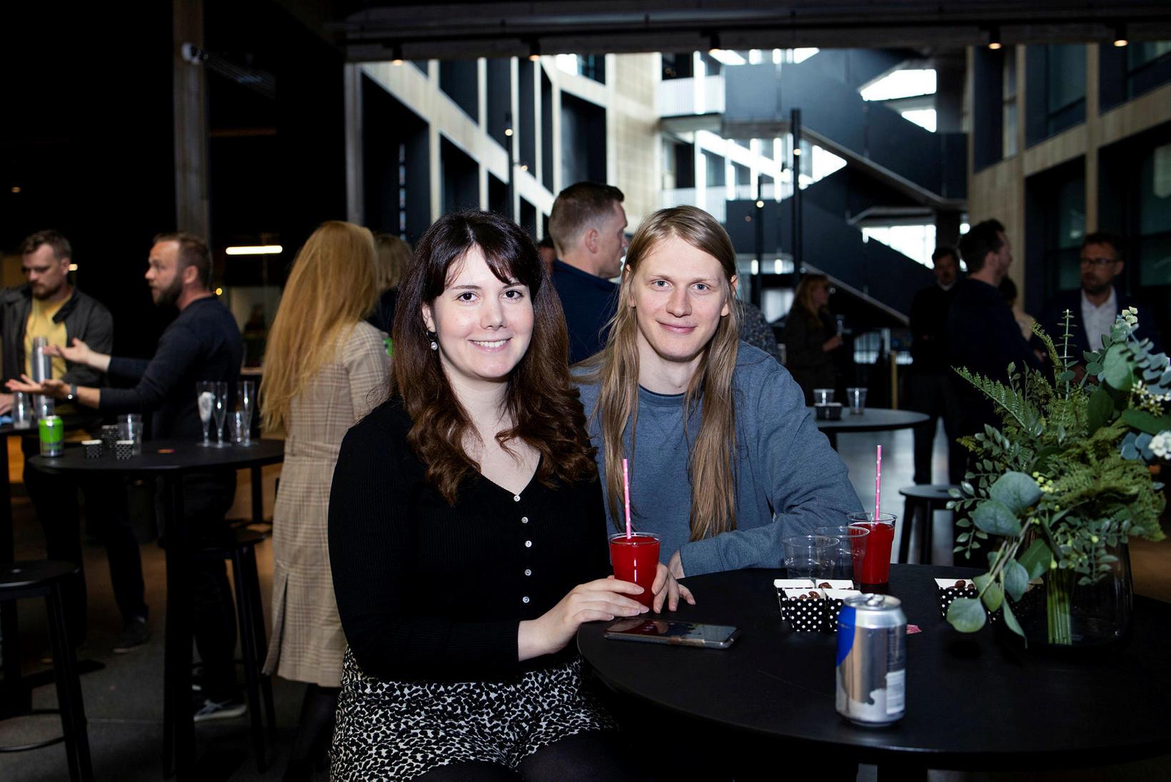 Ayca Eriskin og Guðjón Sveinsson.
