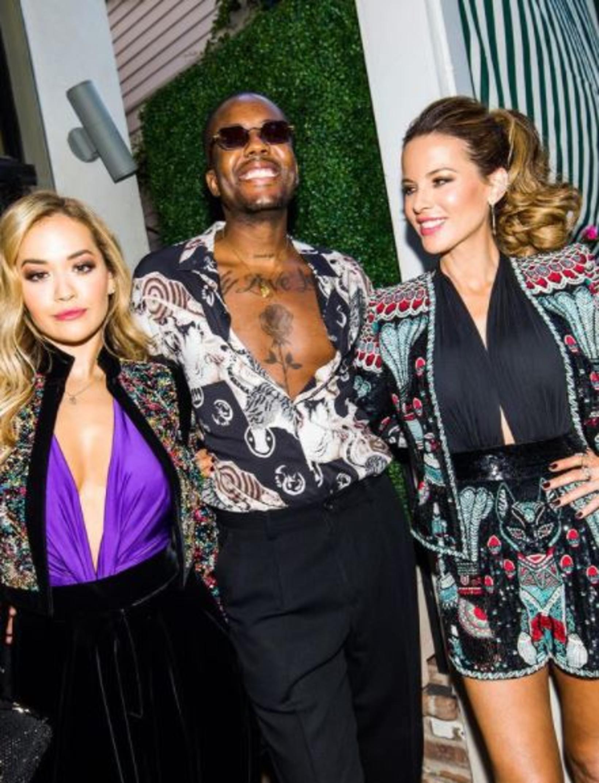 Rita Ora, Vas J. Morgan og Kate Beckinsale