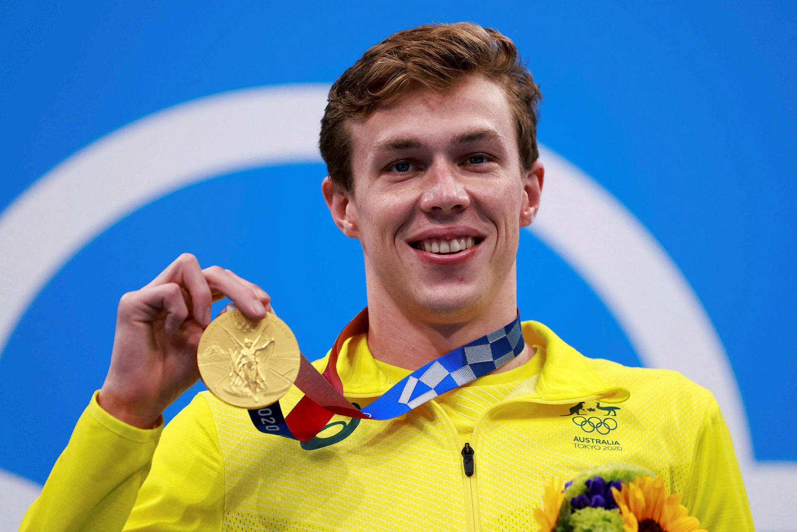Izaac Stubblety-Cook frá Ástralíu vann 200 metra bringusundið.