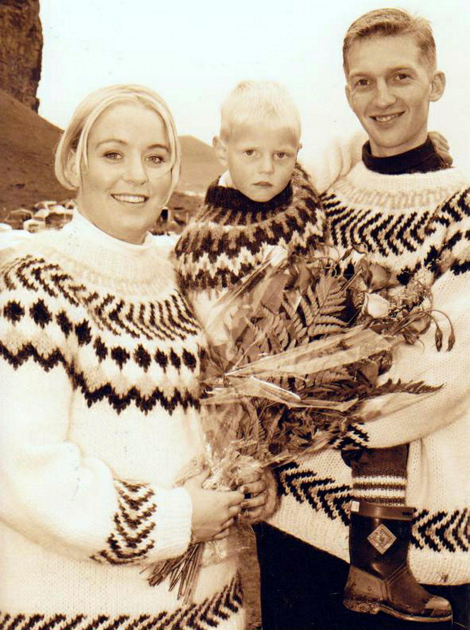 Lilja Ólafsdóttir og Halldór Sævarsson giftu sig á þjóðhátíð í …