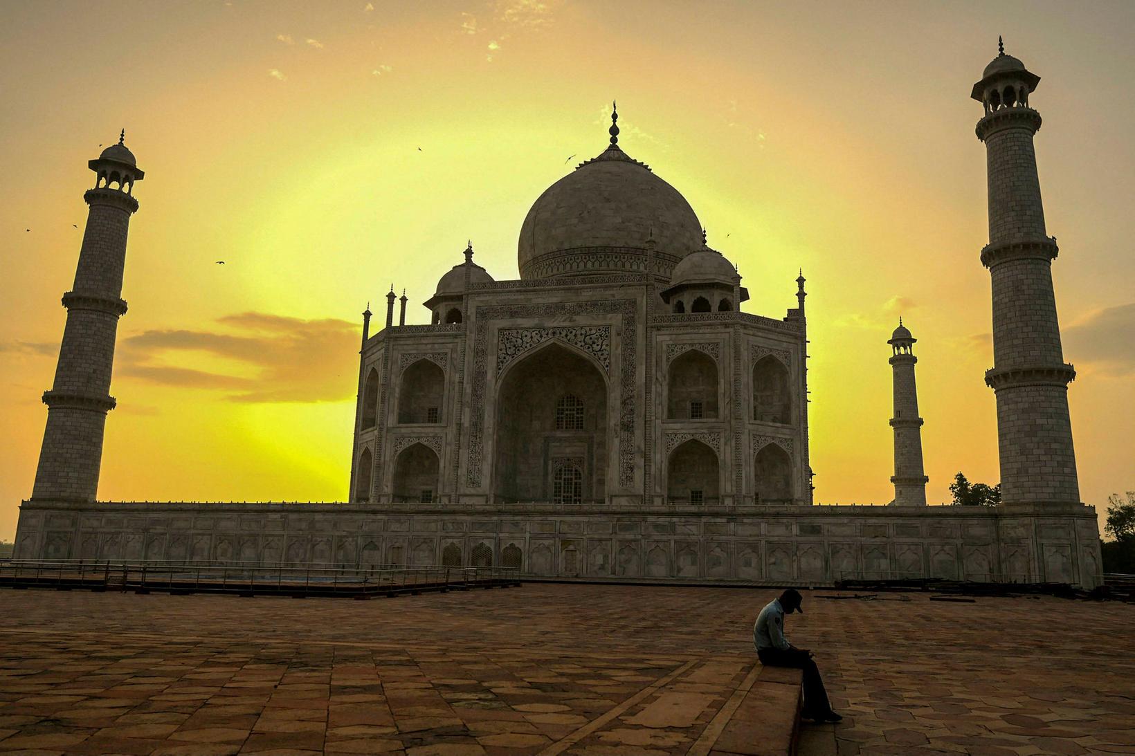 Taj Mahal er í efsta sæti listans