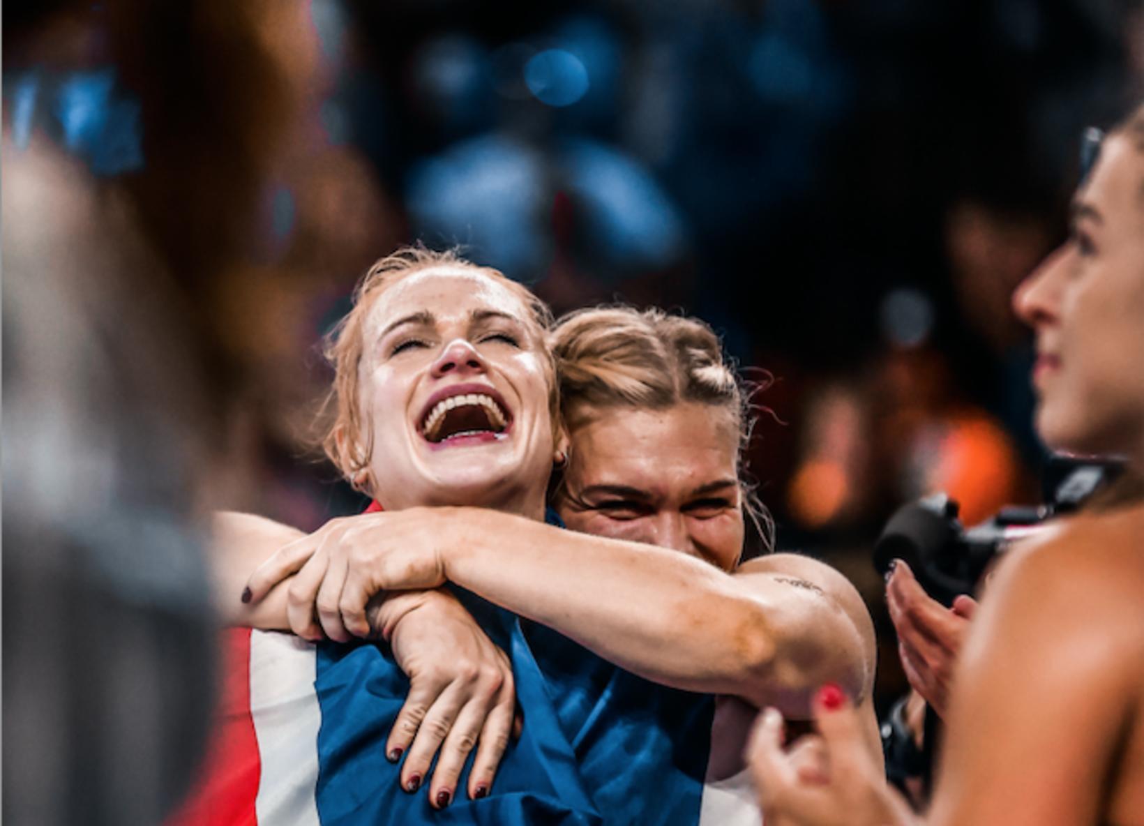 Annie Mist og Katrín Tanja.