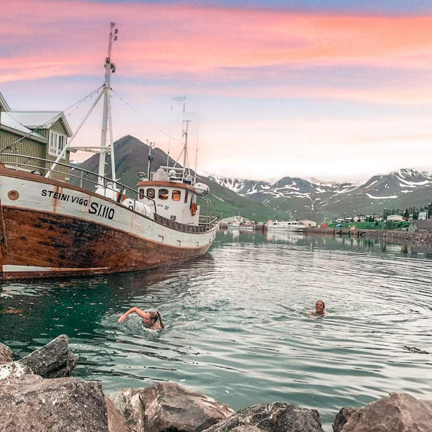 Bjarni, Halldóra, Jimmy og Sólrún reka Sunnu, Hannes Boy og …