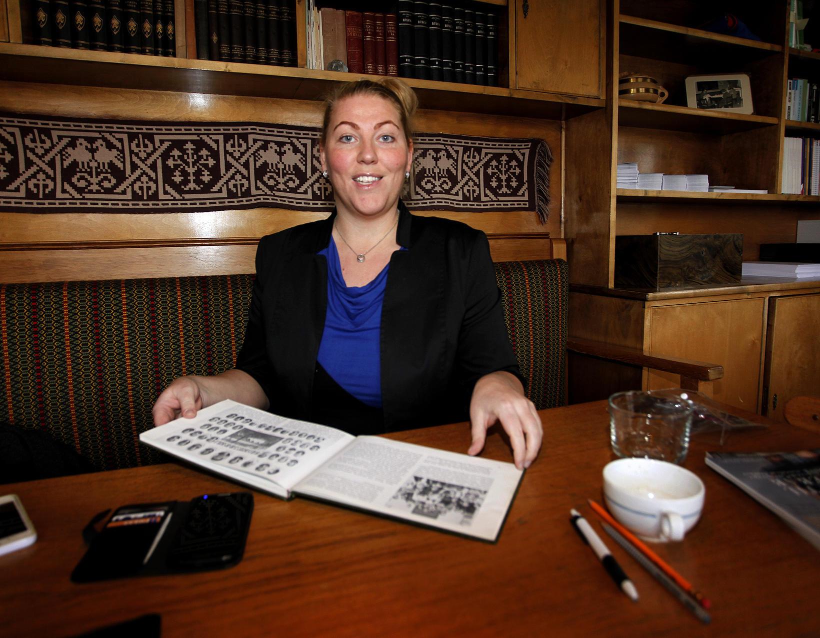 Bryndís Fiona Ford skólameistari er spennt fyrir vetrarstarfi skólans.