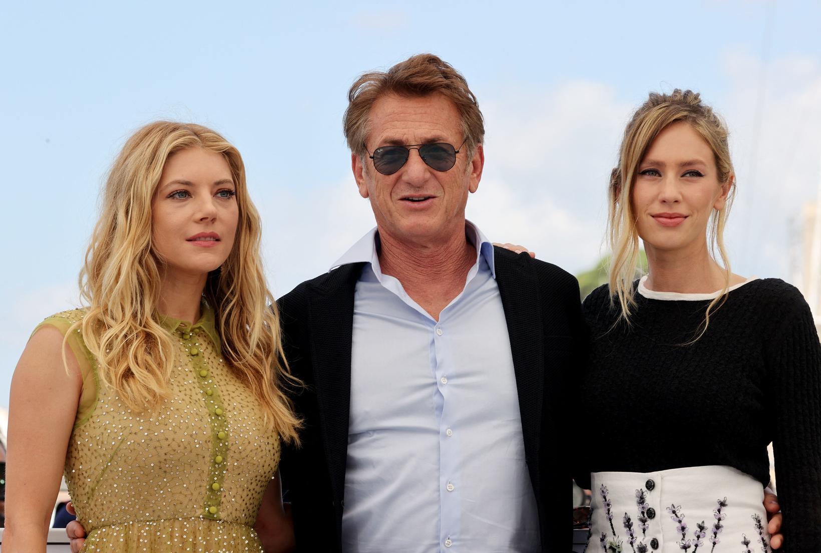 Canadian actress Katheryn Winnick, American actor and director Sean Penn, …