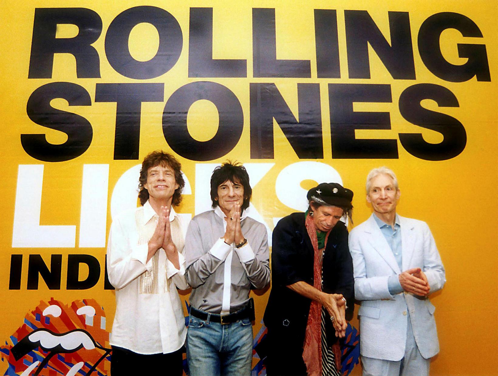 Paul McCartney sagði The Rolling Stones vera blústónlistar ábreiðuband.