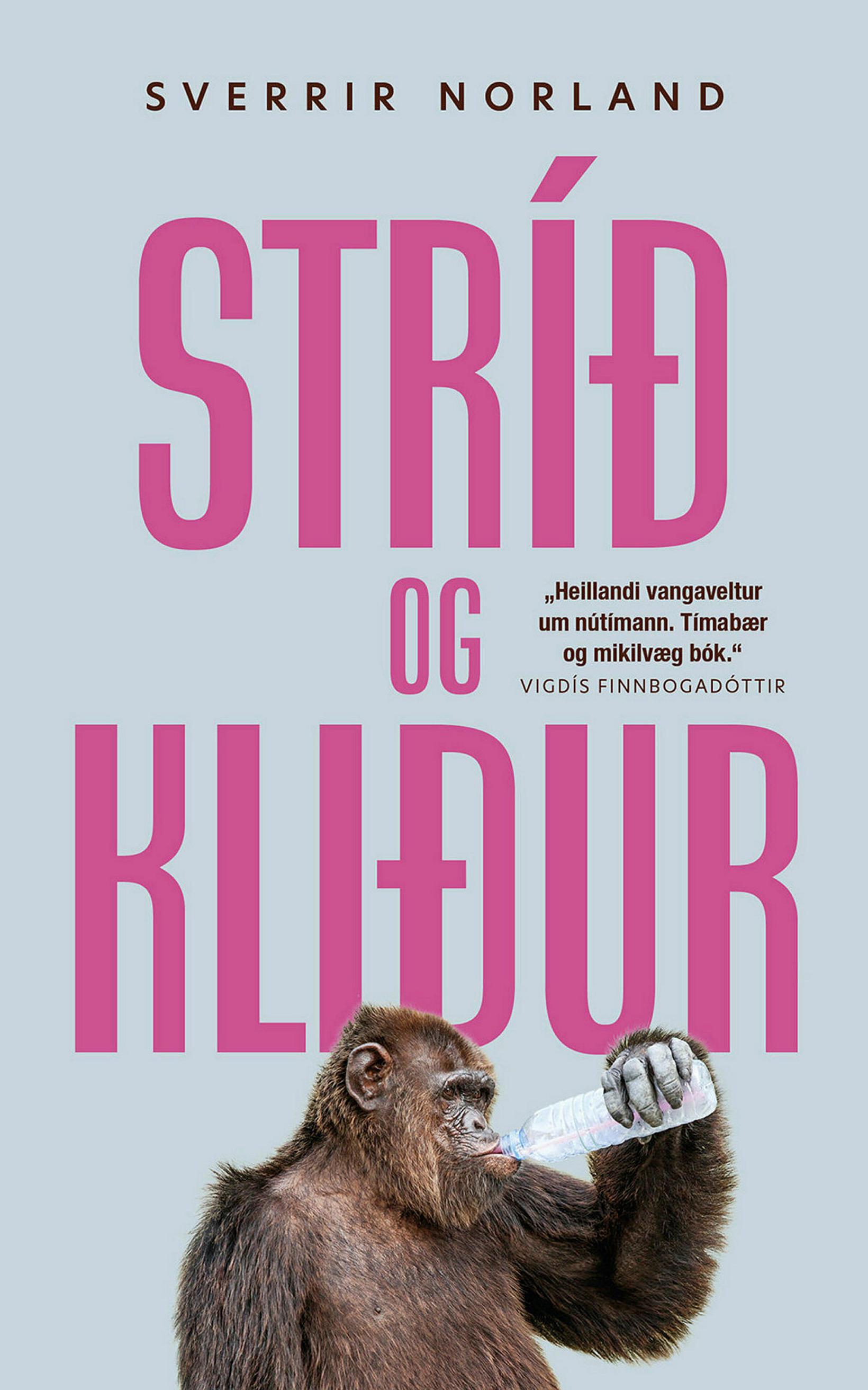 Bókin Stríð og kliður er ellefta bók Sverris.