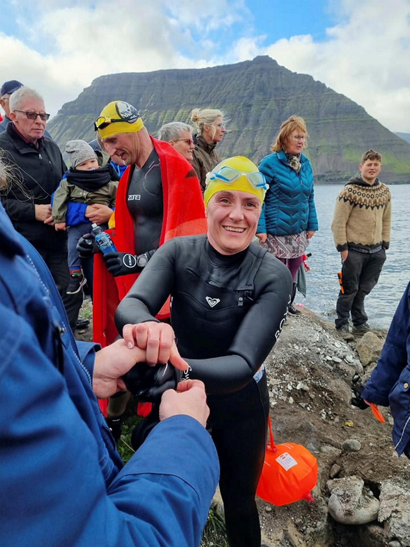 Hólmfríður Bóasdóttir, one of the participants.