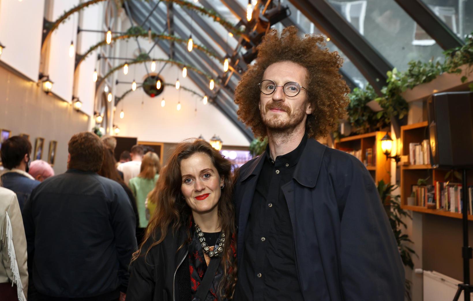 Bergþóra Snæbjörnsdóttir og Bragi Páll Sigurðarson.