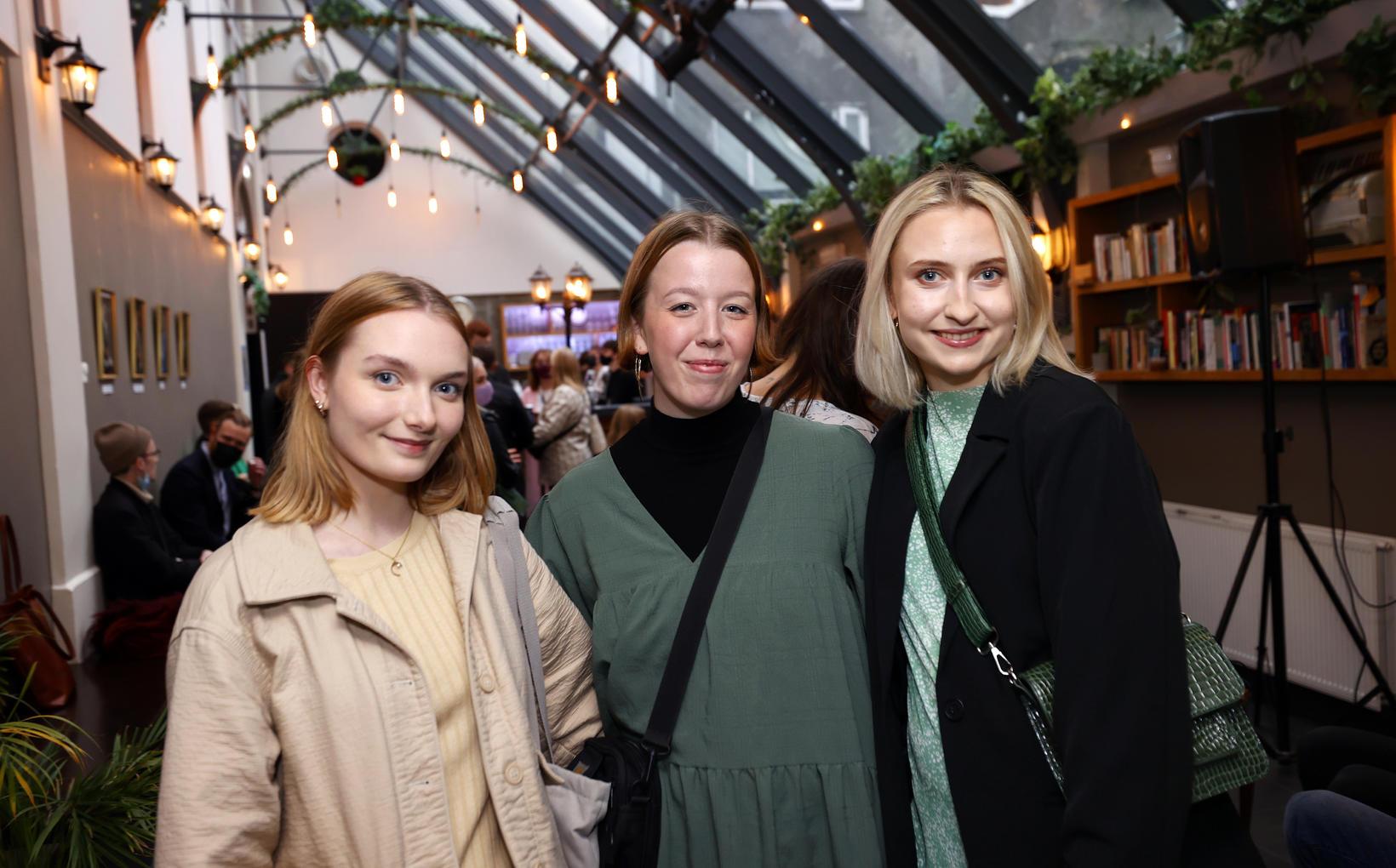 Ása Diljá Pétursdóttir, Júlía Karín Kjartansdóttir og Birta Hannesdóttir.