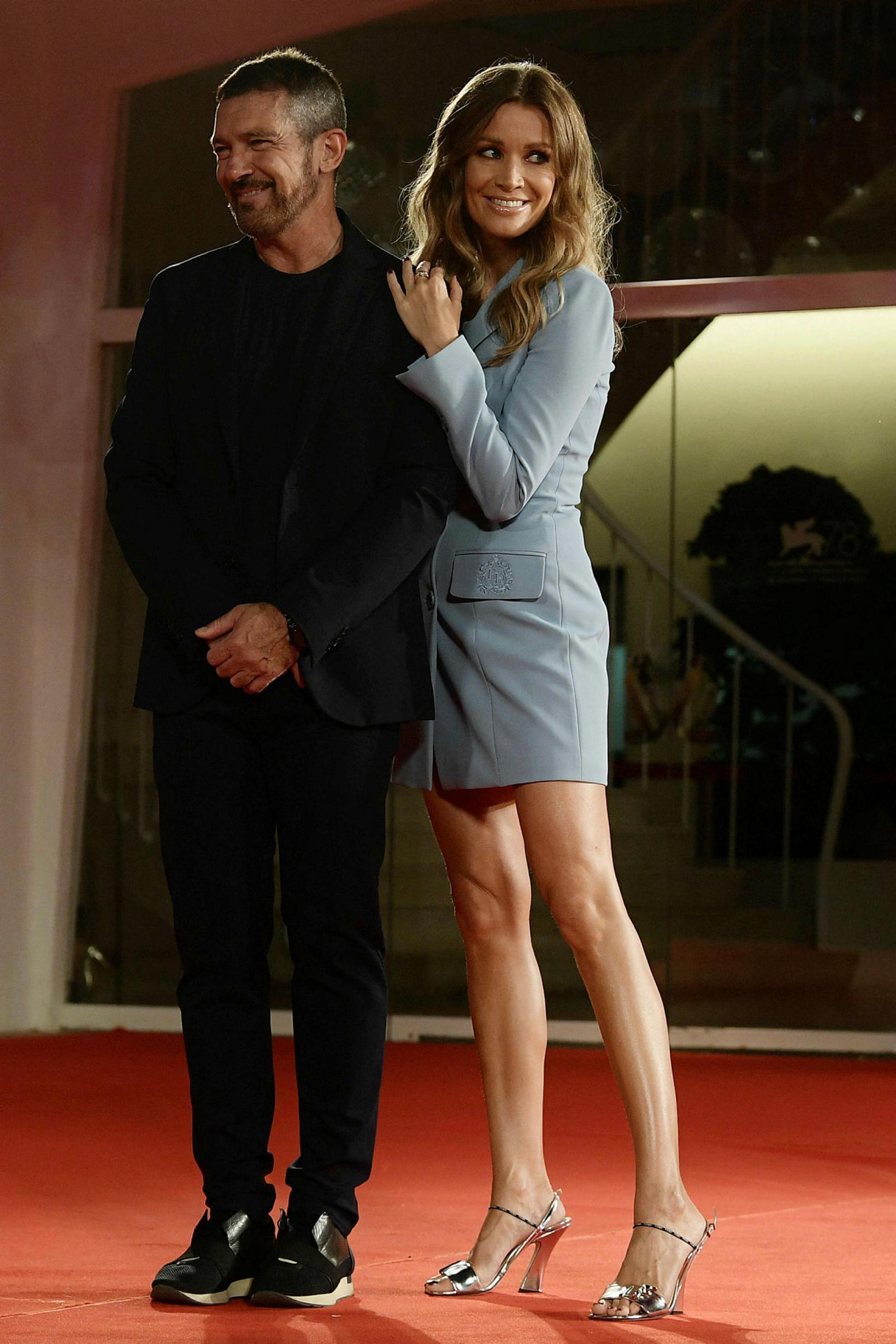 Antonio Banderas og Nicole Kimpel.